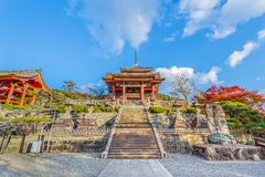 Kiyomizu-dera Temple in Kyoto Stock Images