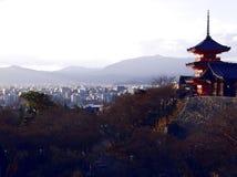 Kiyomizu dera Temple in Kyoto Japan stock image