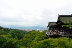 Kiyomizu Dera Temple Kyoto Japan Royalty Free Stock Photo