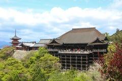Kiyomizu-dera Temple in Kyoto, Japan Stock Photo