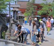 Kiyomizu dera temple Kyoto Stock Image