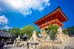 At Kiyomizu-dera Temple Stock Photography