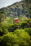 Kiyomizu-dera temple Royalty Free Stock Photos
