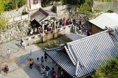 Kiyomizu-dera (templo puro del agua) Fotos de archivo libres de regalías