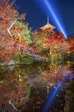 Kiyomizu-deraschrein in Kyoto Stockbild