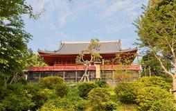 Kiyomizu Kannon寺庙在上野,东京,日本 免版税库存图片
