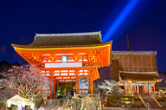 Kiyomizu Shrine in Kyoto Royalty Free Stock Photo