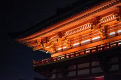 Kiyomizu Tempel Lizenzfreie Stockbilder