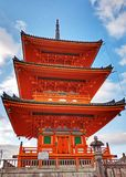 Kiyomizu Tempel stockbilder