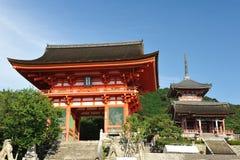 Kiyomizu Temple Stock Photography
