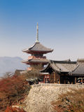 Kiyomizu temple royalty free stock images