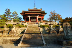 Kiyomizu Temple royalty free stock photography