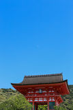 Kiyomizu Temple. Royalty Free Stock Images