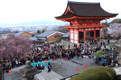 Kiyomizu Temple,Japan Royalty Free Stock Photography