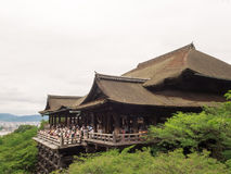 Kiyomizu Temple, Japan, The temple is part of the Histori. Kyoto,Japan - June 28, 2014 : Kiyomizu Temple, Japan, The temple is part of the Histori Stock Image