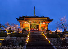 Kiyomizu Temple, Kyoto Royalty Free Stock Photo