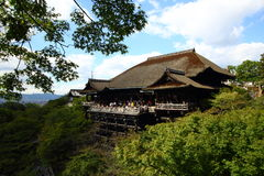 Kiyomizu Temple, Kyoto Japan Royalty Free Stock Image