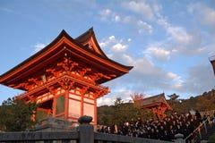 Kiyomizu temple, Kyoto, Japan Royalty Free Stock Image