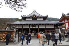Kiyomizu Temple Royalty Free Stock Photos