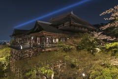 Kiyomizu Temple in Kyoto Japan Stock Image