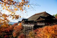 The Kiyomizu Temple Kyoto Japan Stock Image