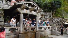 Kiyomizu Temple, Kyoto, Japan stock video