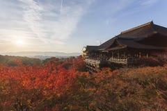 Kiyomizu Temple in Kyoto, Japan Royalty Free Stock Photo