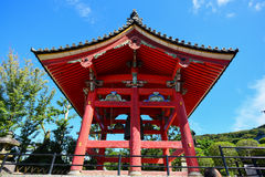 Kiyomizu Temple in Kyoto Japan, sunny day Royalty Free Stock Images