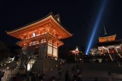 Kiyomizu Temple in Kyoto Japan. Royalty Free Stock Photos