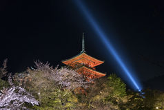 Kiyomizu Temple in Kyoto Japan Stock Photography