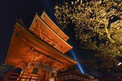 Kiyomizu Temple in Kyoto, Japan Stock Photo