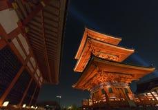 Kiyomizu Temple in Kyoto, Japan. Royalty Free Stock Images