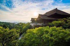 Kiyomizu Temple Royalty Free Stock Images