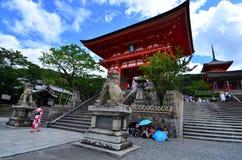 Kiyomizudera Stockfoto