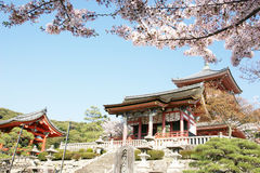 Kiyomizudera Buddhist temple Royalty Free Stock Photo