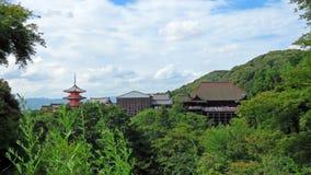 kiyomizudera Kyoto świątynia Zdjęcia Stock