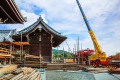 Kiyomizudera in Kyoto Stock Images