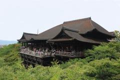 Kiyomizudera o templo puro del agua en Kyoto Imagen de archivo