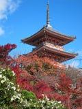 Kiyomizudera Pagode Royalty Free Stock Images