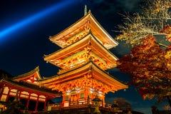 Kiyomizudera Telple Royalty Free Stock Images