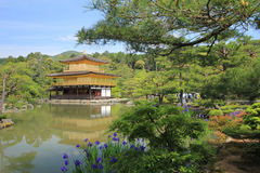 Kiyomizudera tempel i Kyoto, Japan Arkivbilder