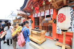 Kiyomizudera Tempel in Kyoto Stockfotografie