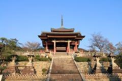 Kiyomizudera temple Royalty Free Stock Images