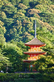Kiyomizudera temple in Japan royalty free stock image