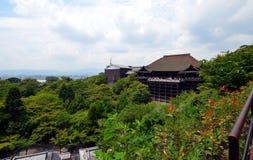Kiyomizudera temple, Kyoto, Japan. Stock Photos