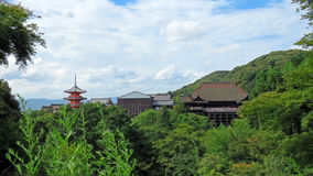 Kiyomizudera Temple in Kyoto Stock Photos