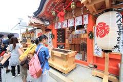 kiyomizuderakyoto tempel Arkivbild