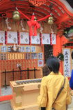 kiyomizuderakyoto tempel Fotografering för Bildbyråer