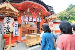 kiyomizuderakyoto tempel Arkivbilder