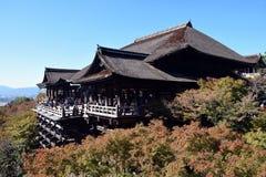 kiyomizukyoto tempel Royaltyfria Bilder